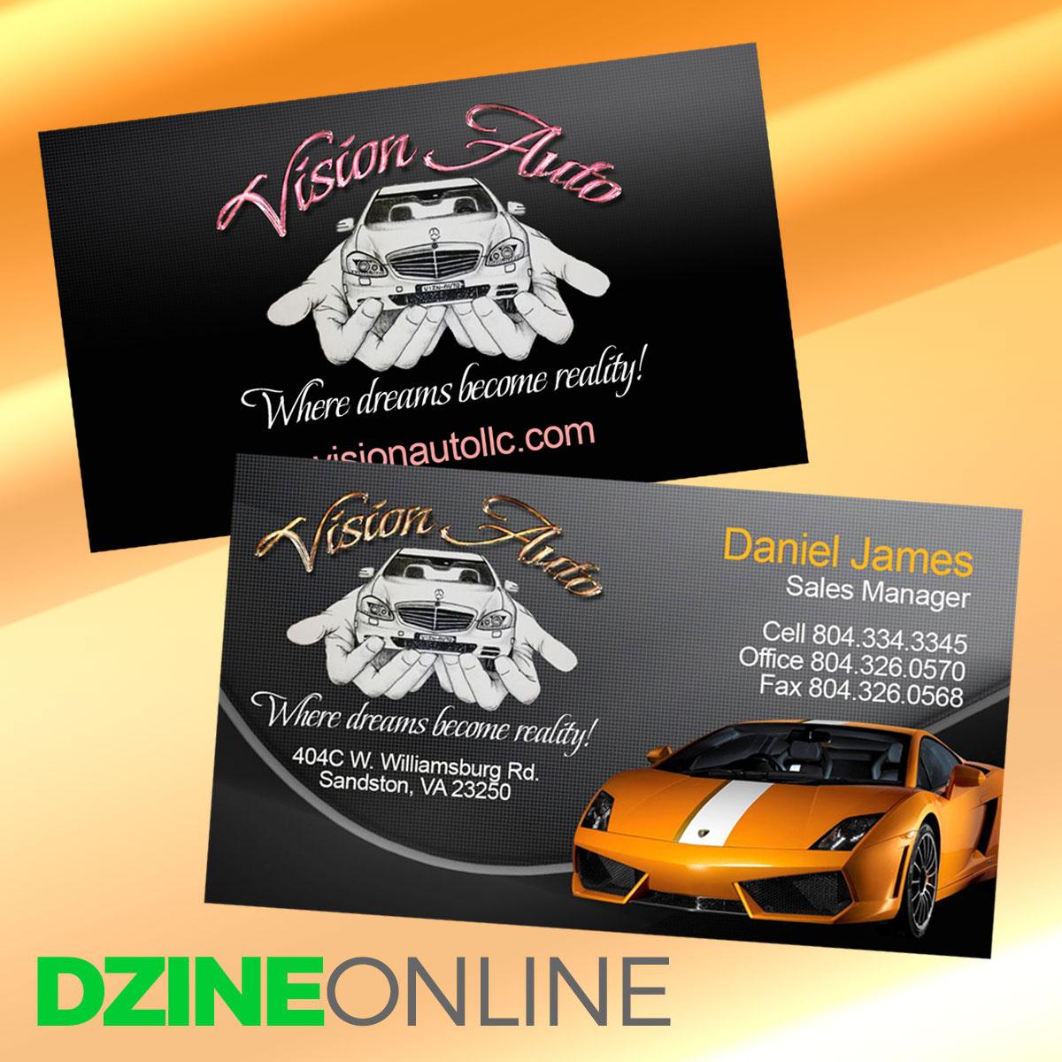 Business Card (Next Day) | Dzine Online